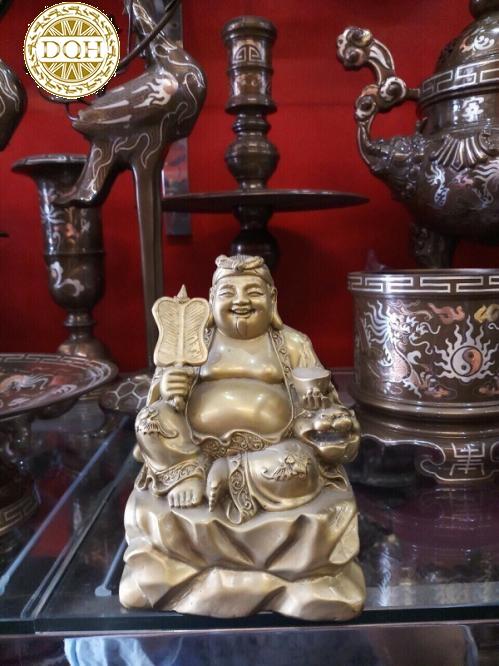 tượng Thần Tài bằng đồng