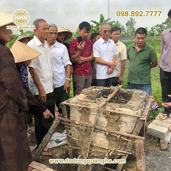 Lễ đúc tượng Thần Hoàng Làng tại Bình Lục, Hà Nam