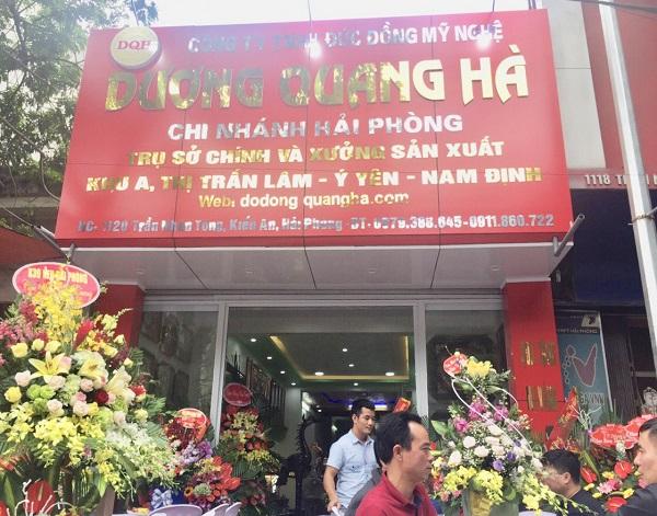 Cơ sở 6: 1120 Trần Nhân Tông - Kiến An - Hài Phòng