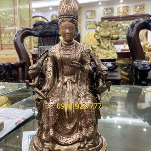 Tôn tượng Mẫu Cửu Trùng Thiên cao 42cm