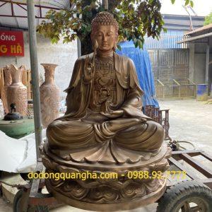 Tượng đồng Phật Thích Ca cao 2m