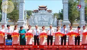 Đồ Đồng Dương Quang Hà tiến hành đúc và lắp đặt biển đền Chung Sơn – Đền thờ Gia Tiên Hồ Chủ Tịch