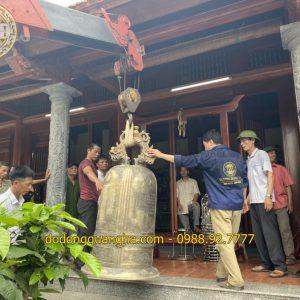 Lễ thỉnh Đại Hồng Chung 500kg tại Chùa