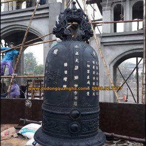 Đại Hồng Chung nặng 2000kg đúc tại Hải Phòng
