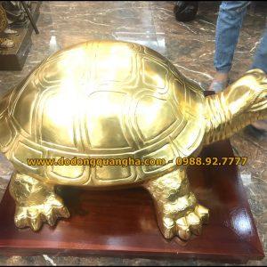Tượng rùa dát vàng 9999