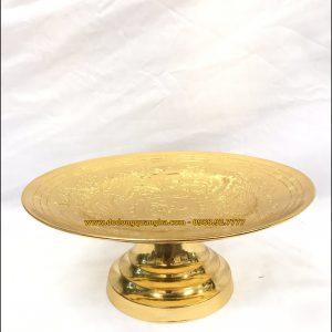 Mâm bồng thờ cúng dát vàng 9999