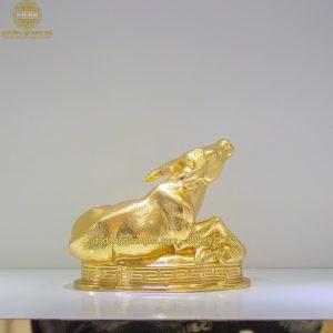 Tượng Trân đồng dát vàng 9999