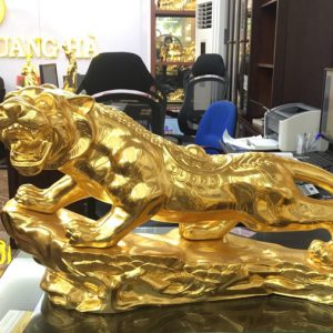 Tượng Hổ dát vàng 9999