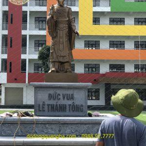 Tượng Đài Vua Lê Thánh Tông đặt tại Hạ Long – Quảng Ninh