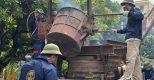 Toàn cảnh buổi lễ đúc Đại Hồng Chung 2,5 tấn tại Chùa Mát – Tp Hải Dương