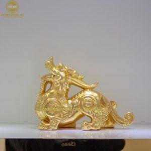 Tượng đồng Tỳ Hưu dát vàng 9999