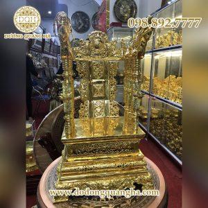 Ngai thờ mạ vàng 24k