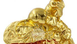 6 ý nghĩa về tượng chuột phong thủy mạ vàng không phải ai cũng biết
