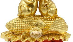 Top 8 mẫu chuột tượng mạ vàng hot nhất Tết Canh Tý 2020