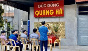 Lễ đúc tượng đồng Hồ Chí Minh nhân dịp kỷ niệm 130 năm ngày sinh nhật Bác