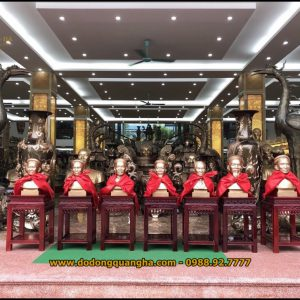 Đúc tượng đồng chân dung tại Đúc Đồng Dương Quang Hà