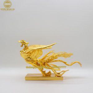 Tượng Công đồng dát vàng 9999