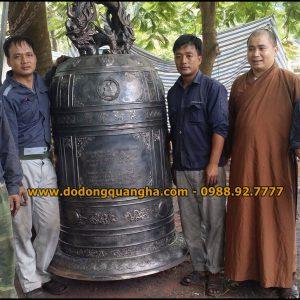 Đại Hồng Chung nặng 1,5 tấn đúc tại Nghệ An