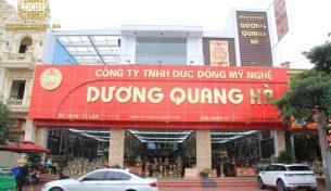 Cơ sở nào chứng minh đồ đồng Dương Quang Hà là cơ sở đúc đồng uy tín?