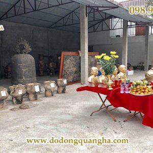 Đúc tượng truyền thần tại công ty TNHH Đúc Đồng Mỹ Nghệ Quang Hà