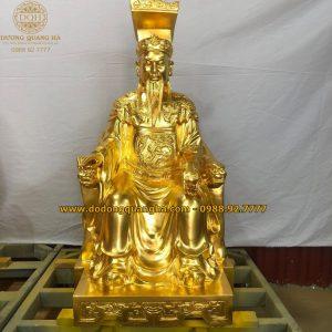 Tượng đồng Ngọc Hoàng cao 10,7m dát vàng 9999