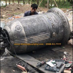 Chuông Đồng nặng 1000kg đúc tại Hà Nội