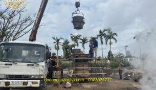 Đại lễ đúc Đại Hồng Chung nặng 1000kg tại đền Bảo Ninh – Hải Hậu