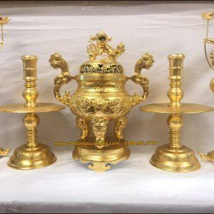 Bộ ngũ sự rồng nổi dát vàng 9999