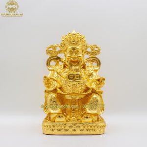 Tượng đồng Thần Tài dát vàng 9999