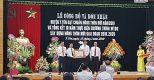 Đồng Dương Quang Hà tham dự lễ đón bằng đạt chuẩn nông thôn mới huyện Ý Yên, Nam Định