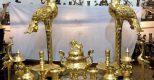Lý do bộ đồ thờ bằng đồng mạ vàng được nhiều đại gia tìm mua