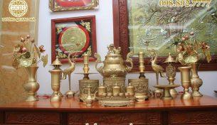 Lý do ngày càng nhiều người chọn mua đồ thờ cúng bằng đồng