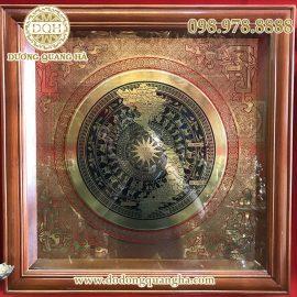 Mặt trống đồng có bản đồ Việt Nam