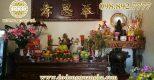 Trang trí bàn thờ gia Tiên dịp Tết bày tỏ lòng kính ngưỡng tổ tiên