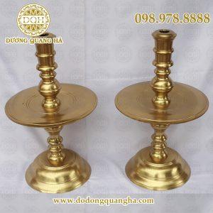 Nến thờ đồng vàng cát tút