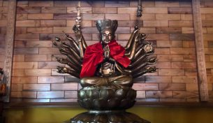 Ngày 3/10/2018  lễ An vị Tượng Phật tại Đền Cửa Bắc – Thành phố Lạng Sơn