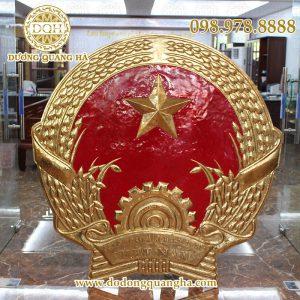 Quốc huy đồng vàng