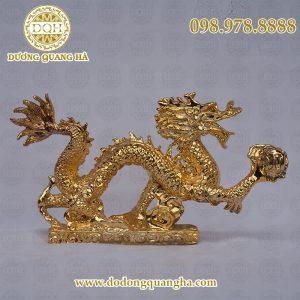 Rồng mạ vàng