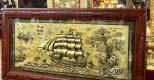 Tranh đồng Thuận buồm xuôi gió – Thuận lợi, may mắn, mọi sự thăng hoa