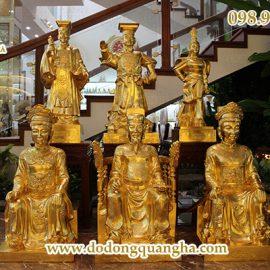 Tượng các vị anh hùng, vĩ nhân Việt Nam dát vàng