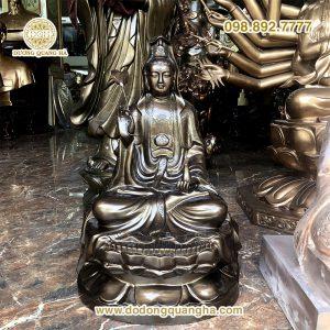 Tượng đồng Phật Bà Quan thế âm bồ tát