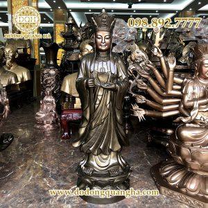 Tượng đồng Phật Địa Tạng Vương Bồ Tát