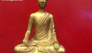 Tượng đồng Phật Hoàng Trần Nhân Tông – vị vua nổi tiếng anh minh trong lịch sử Việt Nam