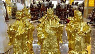 Ý nghĩa của tượng đồng Tam Đa và địa chỉ cung cấp tượng uy tín, đẹp tinh xảo