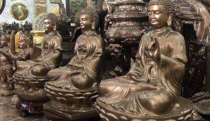 Tượng đồng Tam Thế Phật – ý nghĩa và địa chỉ nào cung cấp uy tín?