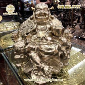 Tượng Phật Di Lặc đồng vàng