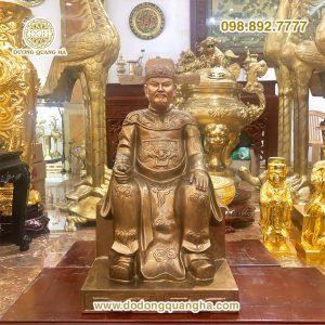 Tượng Thần Hoàng Làng bằng đồng
